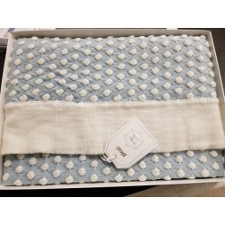 Two-tone wool blanket Picci wheelchair blanket