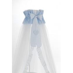 Mosquito net veil with Ariel Erbesi