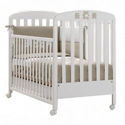 Molly wooden cot Erbesi with mattress