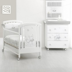 Cot + Bathtub / Changing table Nuvoletta Erbesi + gift mattress