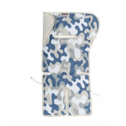Double Face Camouflage mattress for strollers and Picci
