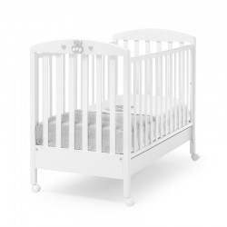 Charly wooden cot Erbesi with complimentary mattress