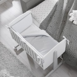 Ninna co-sleeping Erbesi complete with mattress and textile