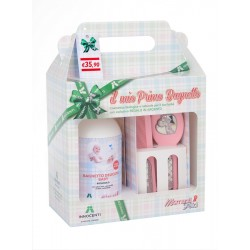 Bio delicate bath + Innocenti Argenti brush and comb set
