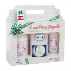 Bio delicate bath + cream change + Innocenti Argenti pacifier door set