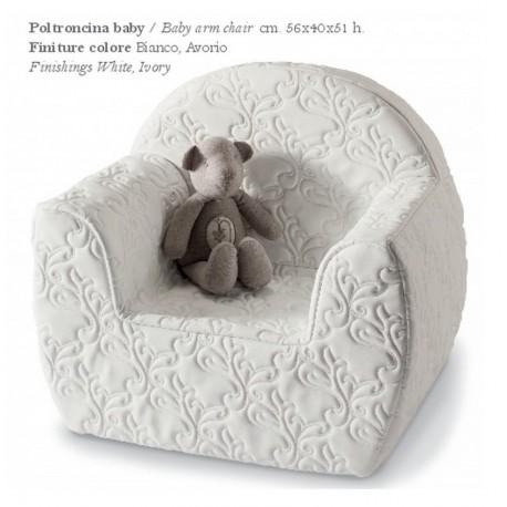 Poltroncina Baby Rinascimento Azzurra Design