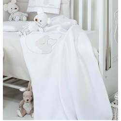 Sweetheart cot fleece blanket Foppapedretti