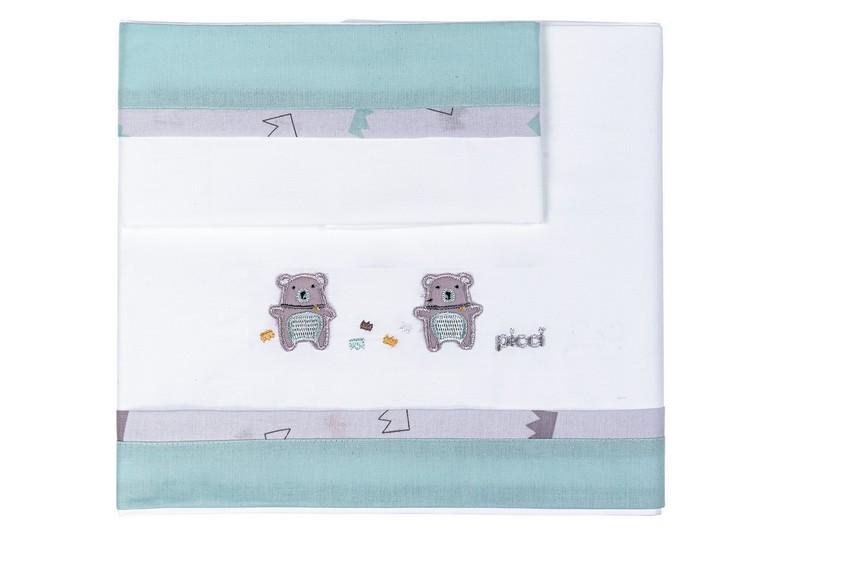 Per neonato lenzuola sopra con federa per culla tutto per i