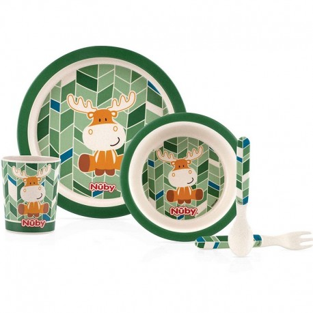 Set Pappa in bamboo Nuby