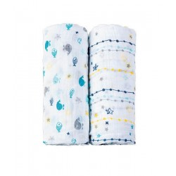 Baby Swaddle Picci 2pz - I Coccolosi