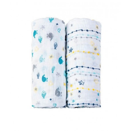 Baby Swaddle Picci 2pz - The Cuddly