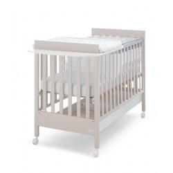 Lettino Homi Baby Space con materasso in omaggio Azzurra Design