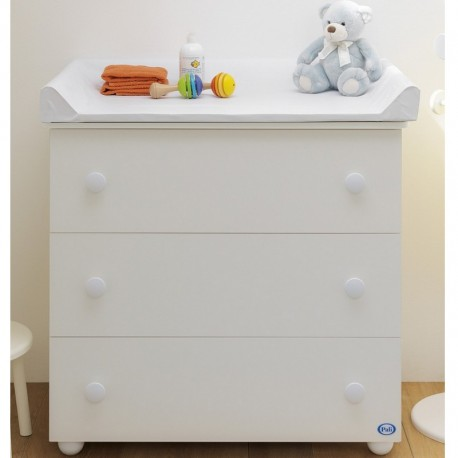 Comò Eco Plus Pali with changing table mattress and bathtub