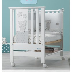 Contact Art Cot cradle and sofa 3 in 1 Azzurra Design + mattress