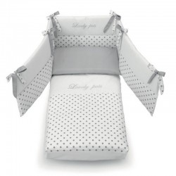 Duvet set with Contact Azzurra Design for Contact cot