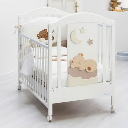 Nannamia wood bed Azzurra Design with complimentary mattress