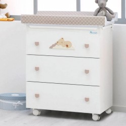 Bath changing table Nannamia Azzurra Design