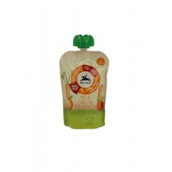 Apple puree, carrots and apricot Alce Nero 100gr