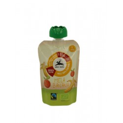 Apple puree and banana Alce Nero 100gr
