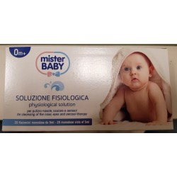 Physiological solution Mister Baby 20 flacions
