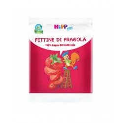 Fettine di fragola Hipp Kids