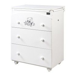 Bath 3 Valdo drawers with PVC mattress Picci