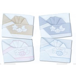 Flannel sheets for cradle/wheelchair Andy and Helen