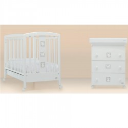 Babyzoo Foppapedretti bedroom with complimentary mattress