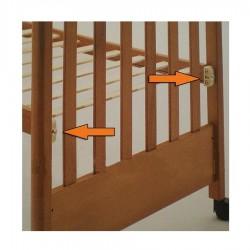 Kit doppia altezza per lettini in legno