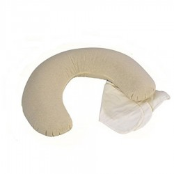 Moon maxi pregnancy and lactation pillow in farro pula Andy & Hellen