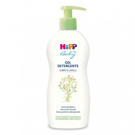 Body cleansing gel and hair Hipp