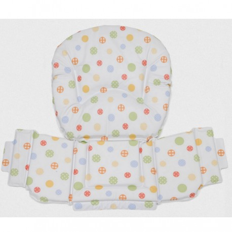 PVC padding for wooden high chair Foppapedretti