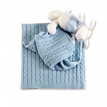 Coperta in lana Stelle Picci per culla/carrozzina