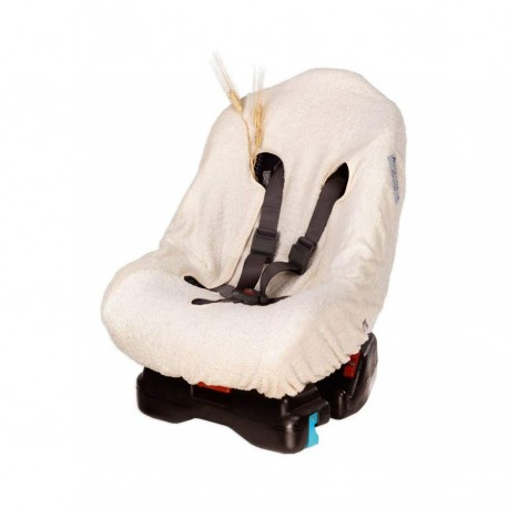 0/1 group car seat cover in Bio sponge with Andy & Helen