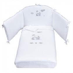 Suit Duvet and Bumper Sunbed Picci Sleepy Mosso