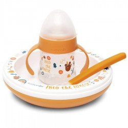 Weaning set three pieces hot Suavinex