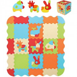 Carpet play animals Ludi with edges
