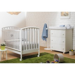 Bedroom with Bed -Ciak Poldo Pali - Baby changing table - Duvet - Bumpers - Pillowcase