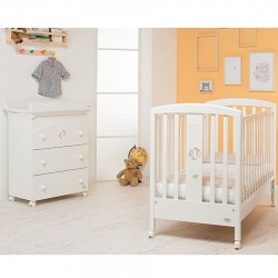 Babyfly bedroom Foppapedretti with complimentary textile and mattress