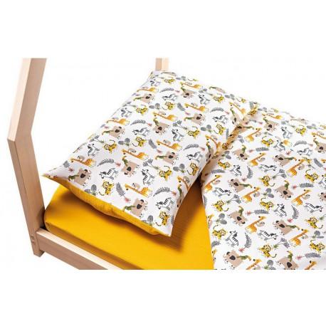 Set Piumino + federa per cuscino + coprimaterasso per lettino Camping Picci