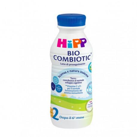 Latte di proseguimento Bio Combiotic Liquido Hipp 2