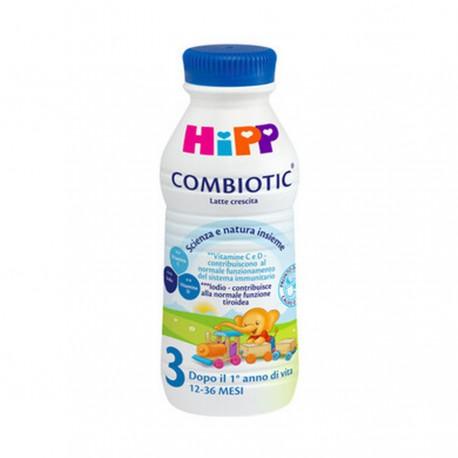 Latte Bio Liquido Hipp 3 Crescita - Multipack 6 pezzi