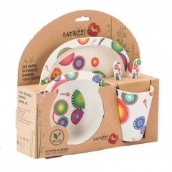 Bamboo gruel set 5 pieces Baciuzzi