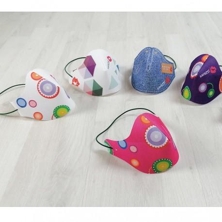 Mascherina gift Kids lavabile riutilizzabile Baciuzzi
