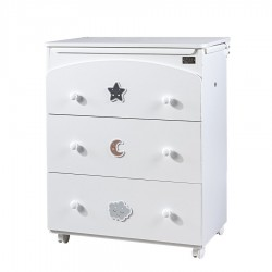Bath/Changing Table 3 Smile drawers Picci