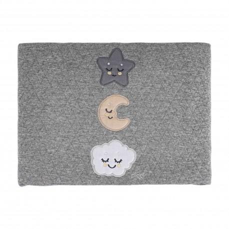 Coperta rombetto culla Orso Converse