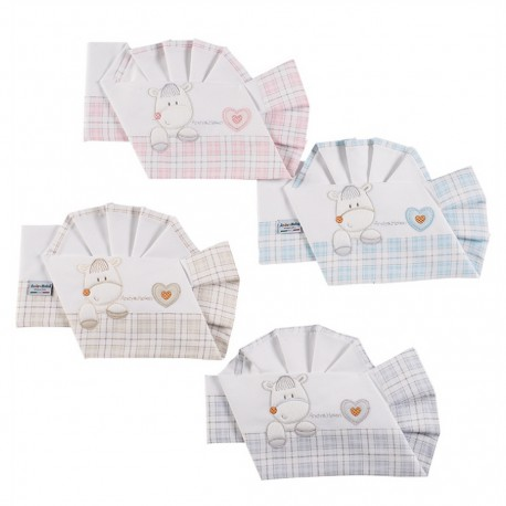 Andy and Helen Wheelchair Cradle Flannel Sheets Set