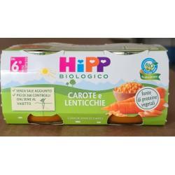 Omogeneizzato Carote e Lenticchie Hipp