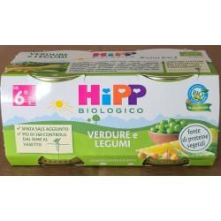 Omogeneizzato Verdure e Legumi Hipp