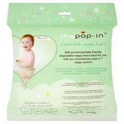 Biodegradable wipes for Pop In